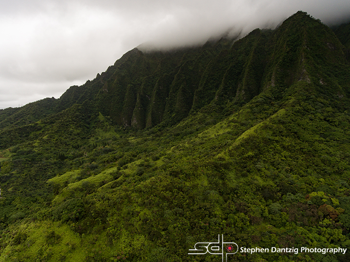 Koolau foothills on a cloudy day 10 72