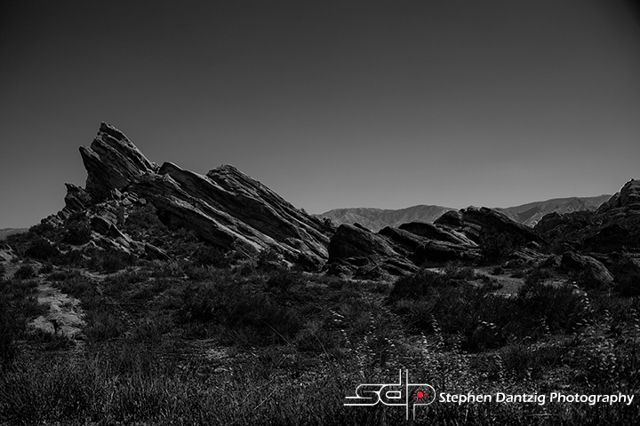 Vasquez Rocks BW Horizontal 10 72